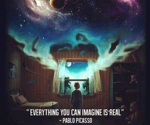 imagine, quote, and Dream image
