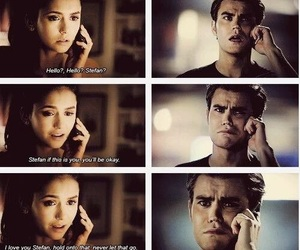 stelena, tvd, and stefan salvatore image