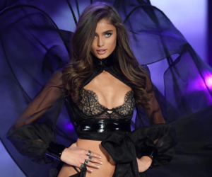 taylor hill, Victoria's Secret, and model image