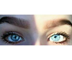 eyes, blue, and blue eyes image