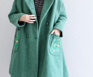 etsy, women coat, and double breasted coat image