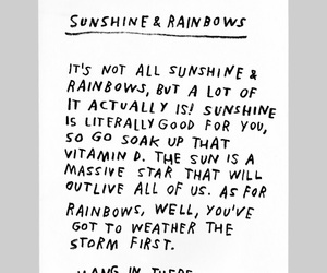 happy, quotes, and sunshine image