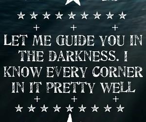 corner, Darkness, and me image