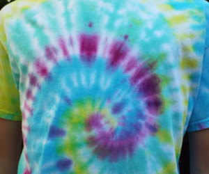 boho, bright, and tie-dye image