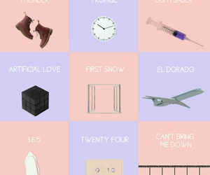 songs, exo, and kpop image