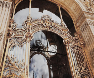 architecture, gold, and luxury image