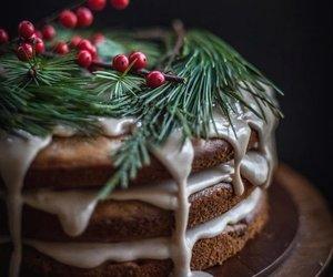 cake and christmas image