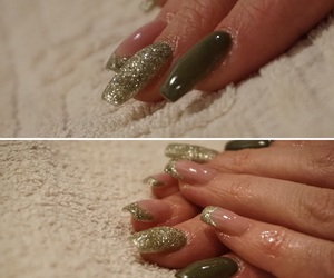 beauty, gel, and green image