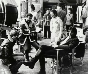 mark hamill, carrie fisher, and george lucas image