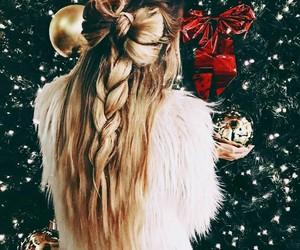 christmas, girly, and lights image