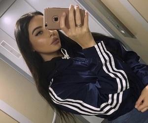 adidas, girl, and beauty image