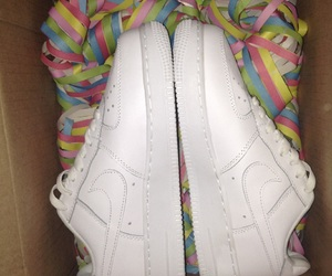 gift, white, and airforce1 image