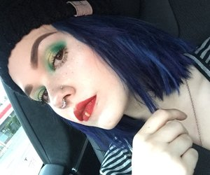 billie, color hair, and dawn image