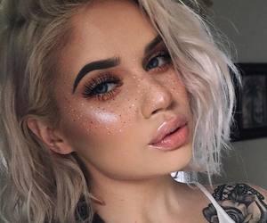 amazing, girl, and make up image