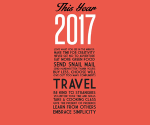 resolution, 2017, and travel image