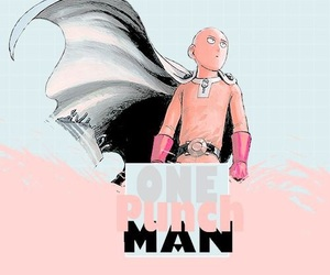 one punch man, anime, and wallpaper image