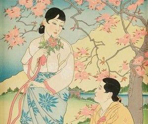 graphics, 20th century art, and ukiyo-e image