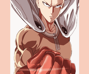 one punch man, anime, and saitama image