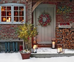 christmas, decoration, and holidays image