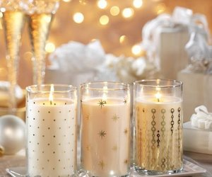 candle, decoration, and holidays image