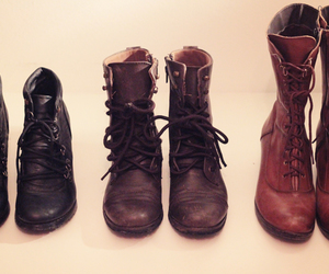boots, combat boots, and shoes image