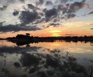 sunrise, kariba, and zimbabwe image