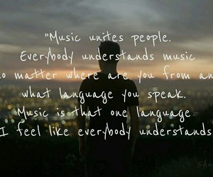 boy, music, and quotes image