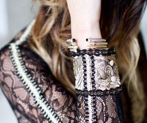 elegant, woman, and fashion image