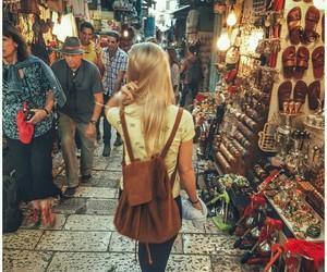beautiful, blonde, and Jerusalem image