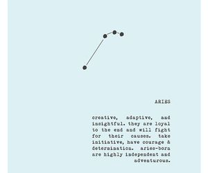 aries, astrology, and constellation image