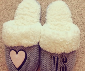 slippers and victoria secret image