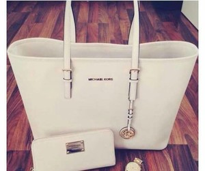 bag, watch, and white image