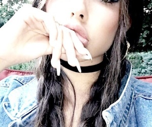 madison beer, girl, and makeup image