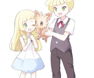 anime, brother and sister, and family image