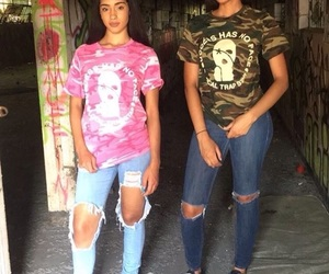 best friends, outfits, and fashion image