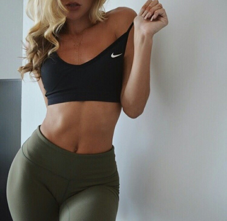 abs, booty, and fitness image