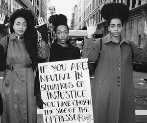 injustice, black, and justice image