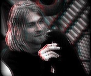 nirvana, edits, and kurtcobain image