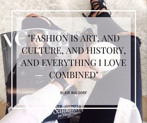 blair, blair waldorf, and fashion image