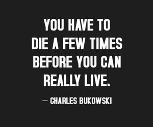 quotes, die, and live image