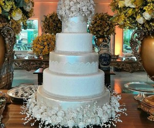 cakes, marriage, and bolo image