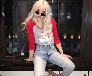 actress, blonde, and dove cameron image