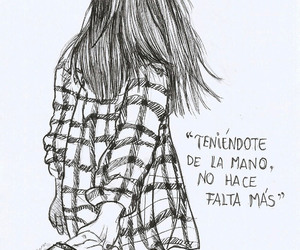 couple, art, and frases image