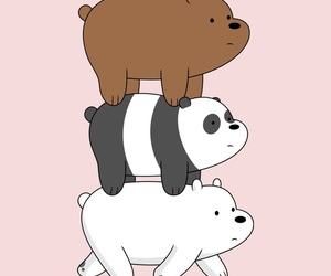 background, love, and barebear image