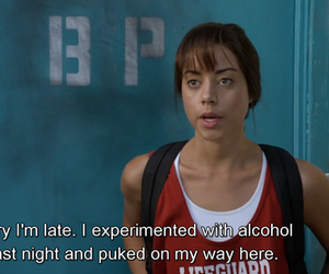 funny and aubrey plaza image