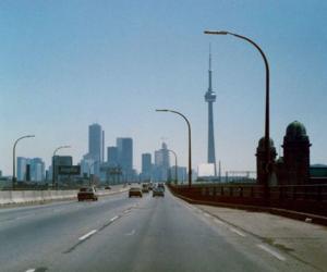 canada, CN tower, and Gardiner Expressway image