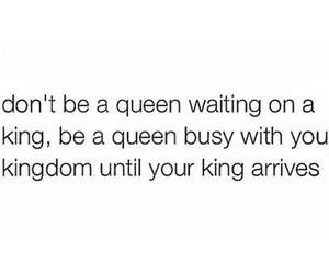 quote and Queen image