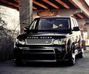 car, luxury, and range rover image