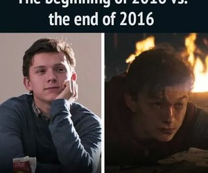 funny, homecoming, and Marvel image