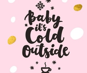 one love, winter, and baby image